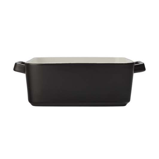 Maxwell & Williams Epicurious Square Baker 24x8cm Black Gift Boxed