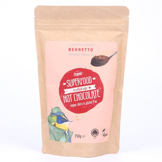 Bennetto Super Foods Hot Chocolate 250g
