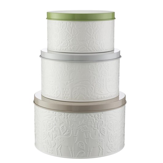 Mason Cash In The Forest Cake Tins Set Of 3