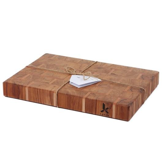 Lynch Wood Creations The Wall Chopping Board 300x400x50mm