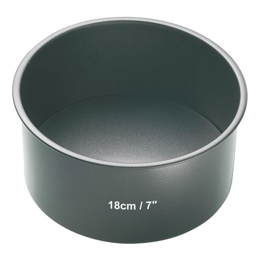 Mastercraft Loose Base Round Cake Pan 18x8cm