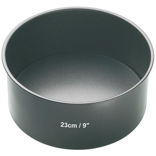 Bakemaster Loose Base Round Cake Pan 23x8cm