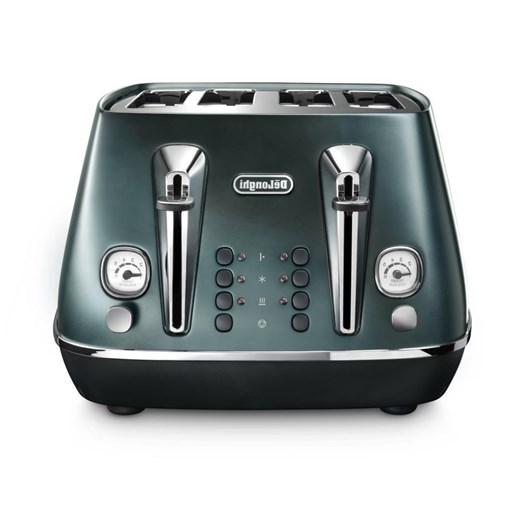 DeLonghi Destinta Flair Four Slice Toaster Allure Green