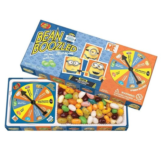 Jelly Belly Minion Beanboozled Spinner Game 99g
