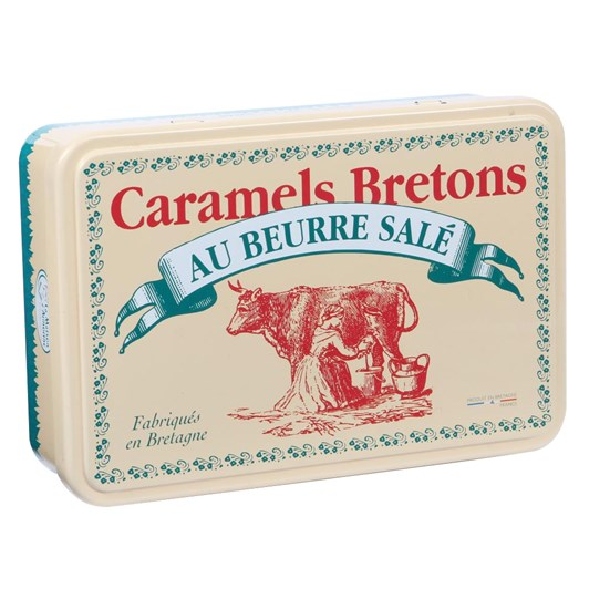 Breton Gift Tin With Caramel Sweets 150g