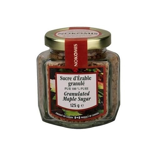 Nokomis Granulated Maple Sugar Jar 125g