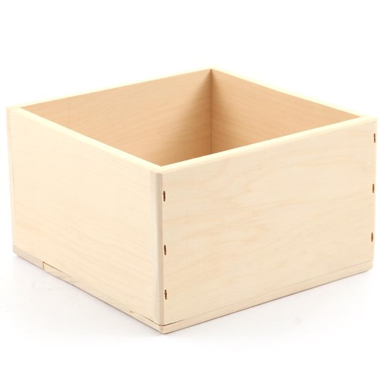 Sallys Wooden Cake Box Small