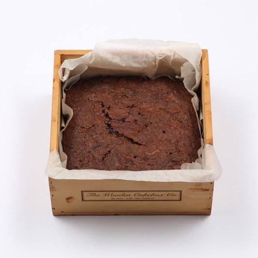 Sallys Wooden Cake Box Large