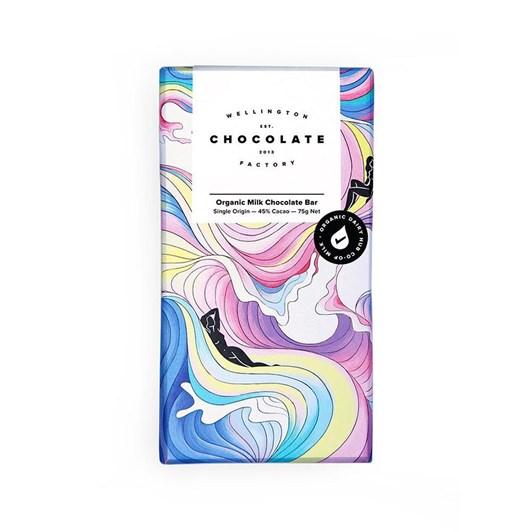 Wellington Chocolate Factory Organic Milk Chocolate 75g