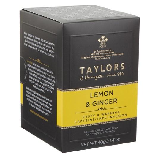 Taylors Fruit Infusion Lemon & Ginger 20'S 40G