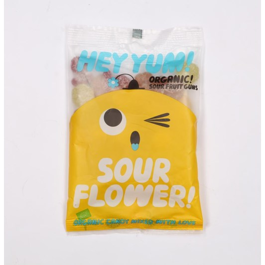 HEY YUM! Sour Flower Organic Sweets 100g