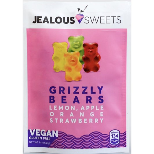 Jealous Fruity Grizzly Bears 40g