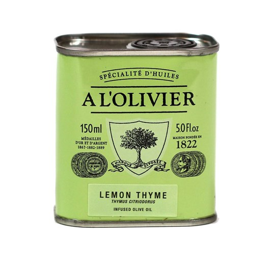 A L'Olivier  Lemon Thyme Infused Olive Oil 150ml