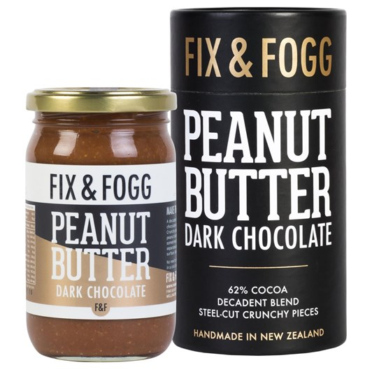 Fix and Fogg Dark Chocolate Peanut Butter Gift Canister 275g