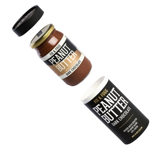 Fix and Fogg Dark Chocolate Peanut Butter Gift Canister 375g