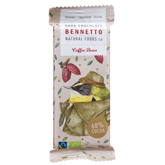 Bennetto Dark Coffee Mini Bar 32g