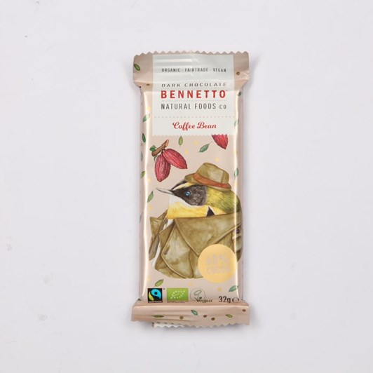 Bennetto Dark Coffee Mini Bar 32g
