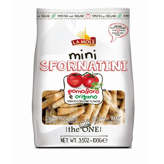 La Mole Sfornatini Mini Breadsticks Pizza 100g