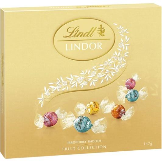 Lindt Lindor Fruit Collection Box 147g