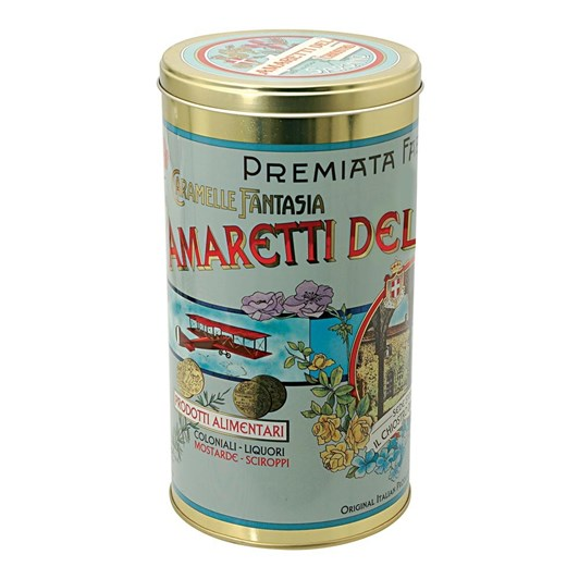 Lazzaroni Amaretti Retro Tin 210g