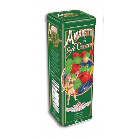 Lazzaroni Amaretti Soft Tower Tin 180G