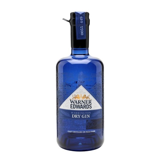 Warner Edwards Harrington Dry Gin 44% 700ml