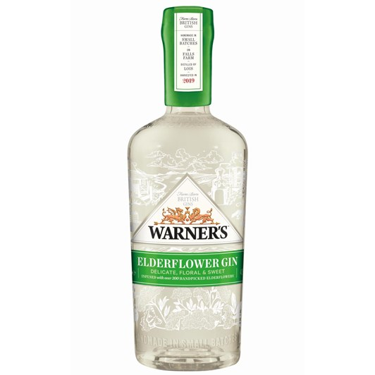 Warner's Elderflower Gin 40% 700ml