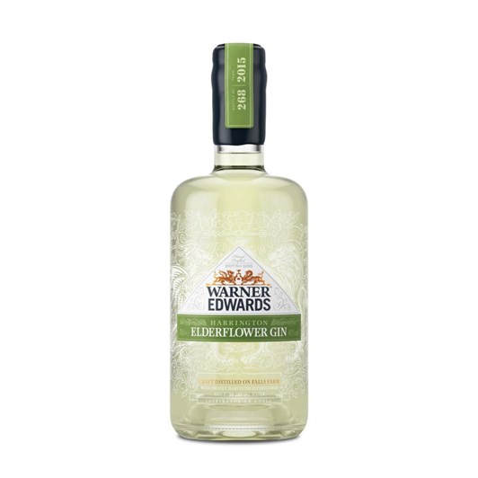 Warner Edwards Elderflower Gin 40% 700ml