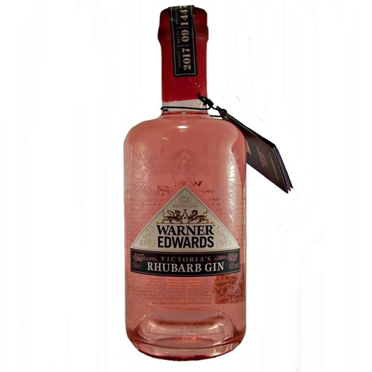 Warner Edwards Victoria Rhubarb Gin 40% 700ml