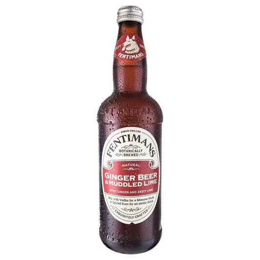 Fentimans Ginger Beer & Muddled Lime 500ml