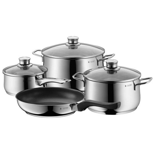 Diadem Plus 4 Piece Cookware Set With Fry Pan