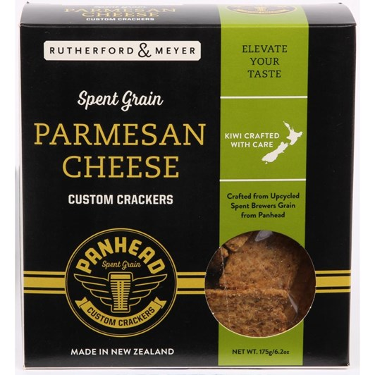 Rutherford & Meyer Spent Grain Parmesan Cheese Crackers 175gm