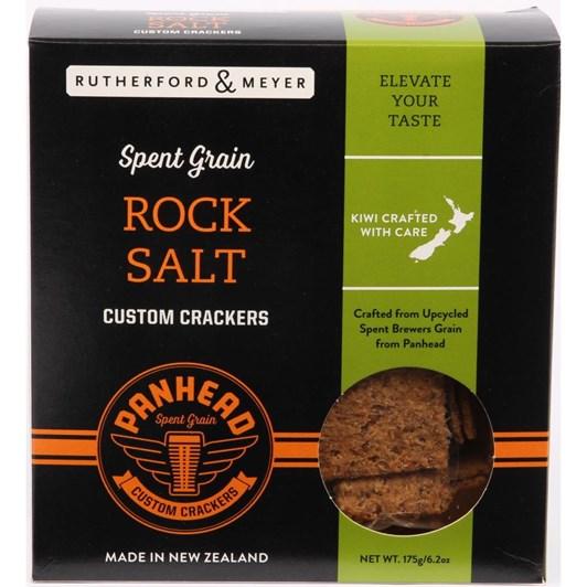 Rutherford & Meyer Spent Grain Rock Salt Cracker 175g