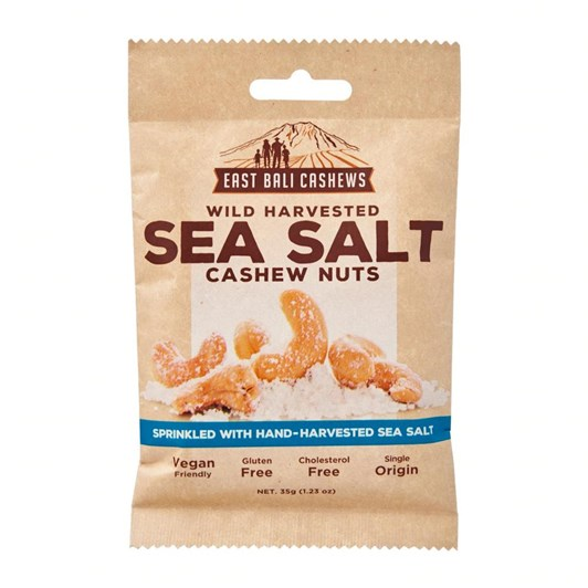 East Bali Cashew Snacks -Sea Salt Cashews 35G