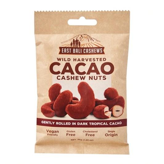 East Bali Cashew Snacks -Cacao Cashews 35G