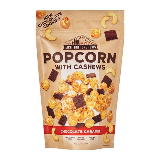 East Bali Cashews Popcorn With Cashews -Chocolate Caramel 90G