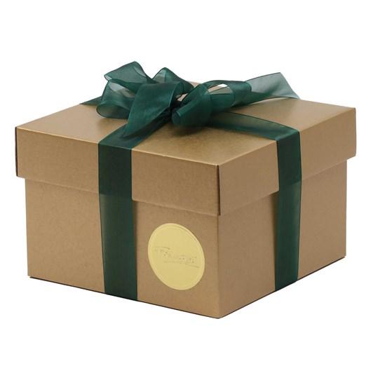 Hamper Box and Lid Set Gold  290 x 290 x 160mm