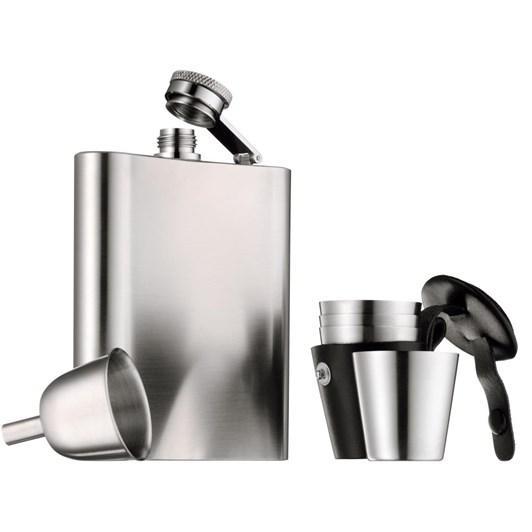 WMF Manhattan Hip Flask 3 Piece Set