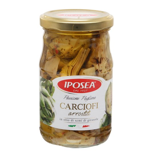 Iposea Artichokes Roasted 314ml