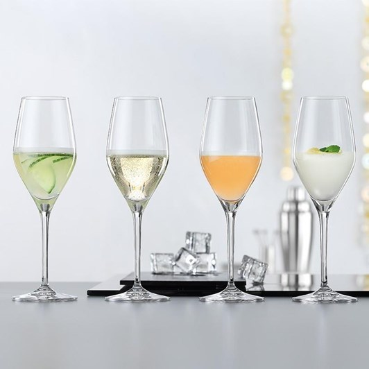 Spiegelau Authentis Prosecco Glass Set Of 4
