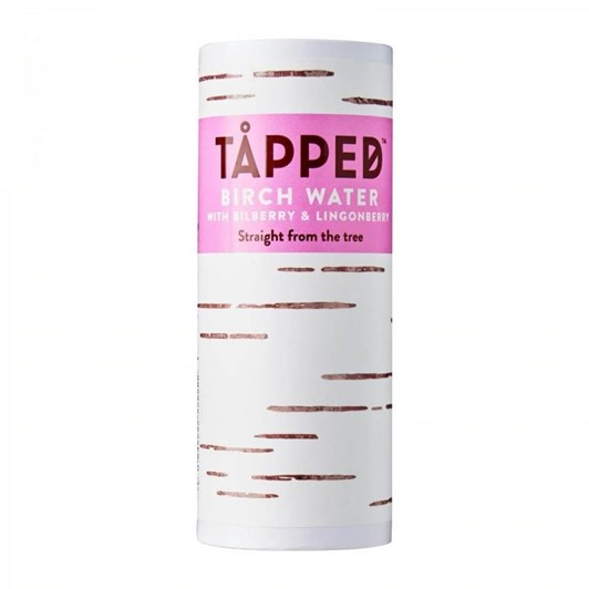 Tapped Organic Birch Water With Bilberry & Lingonberry 250ml