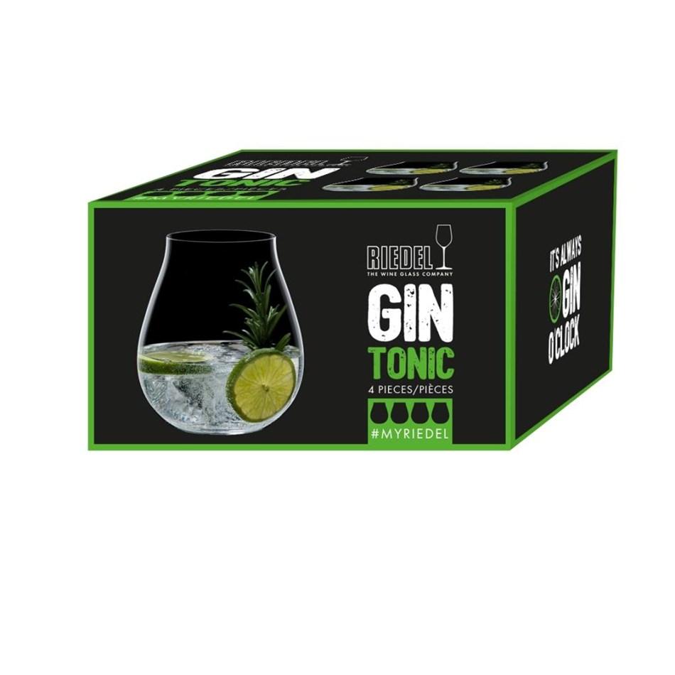 Riedel Gin Glasses Set Of 4 - na