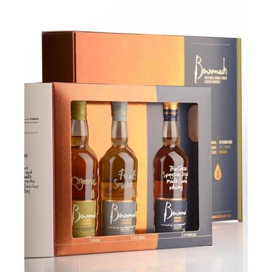 Benromach Trio Gift Pack 3x200ml 43%