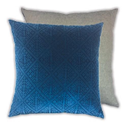 Madras Link Blackheath Deep Blue Cushion 50Cm