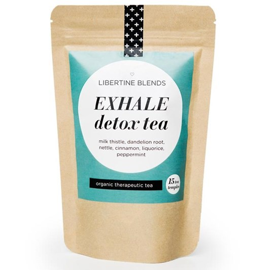 Libertine Blends Exhale Detox 15 Tea Temples