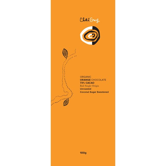 Chai Guy Chocolate 73% Orange 100g