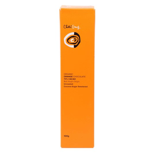 Chai Guy Chocolate 73% Orange 100g