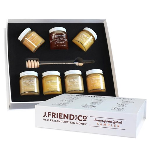 J Friend Honeys of New Zealand Sampler