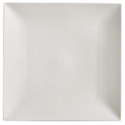 Maxwell & Williams White Basics Linear Square Plate 18cm
