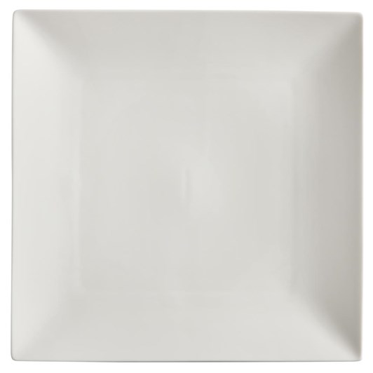 Maxwell & Williams White Basics Linear Square Plate 22cm